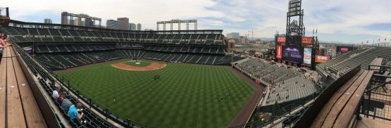 Coors Field from the Rooftop Deck
